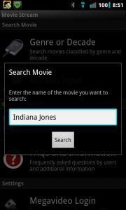 Movie Stream Search