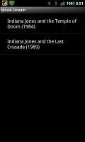 Movie Stream Search Results