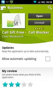 cSift market Page