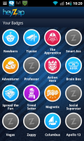 Heyzap Badges