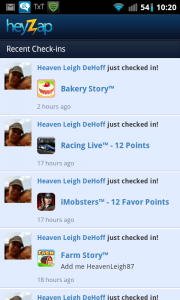 Heyzap User Activity