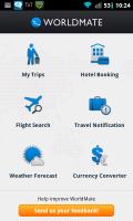 WorldMate Main Page