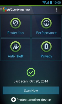 AVG AntiVirus PRO Android Security 1