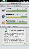 Android Booster Free Battery Info