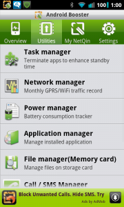 Android Booster Free Utilities