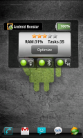 Android Booster Free Widget