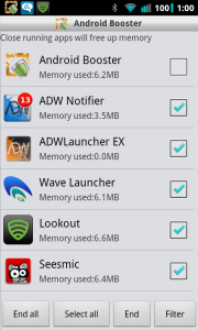 Android Booster Task Manager
