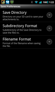 Auto Save MMS Save Preferences