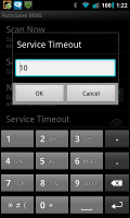 Auto Save MMS Service Timeout