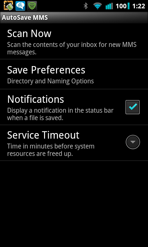 AutoSave MMS Automatically Save Pictures from MMS Text Messages
