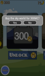 Blast Monkeys Buying sky world
