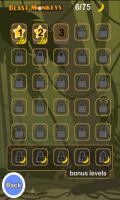 Blast Monkeys Level select screen