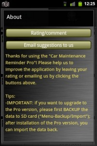 Car Maintenance About