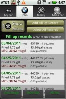 Car Maintenance Reminder Pro Gas Fill Up Records