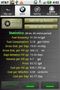 Car Maintenance Reminder Pro Statistics