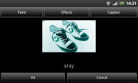 Color Touch Effects - Xray effect