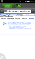 CrossTxT Website