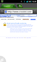 CrossTxT Website Complete Security