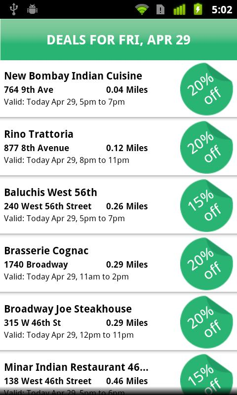 DailyGobble Android App uses daily deals to help restaurants attract more customers