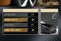 Drag Racing Settings