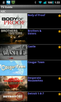 Droid TV TV Guide