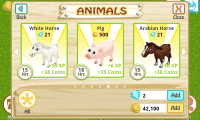 Farm Story Animals