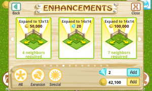 Farm Story Enhancments