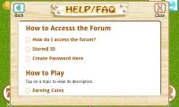 Farm Story Help FAQ