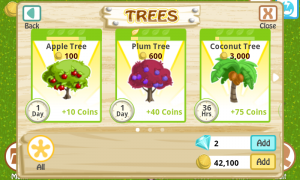 Farm Story Trees
