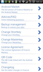 Finance Mastery Options