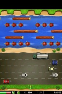 Frogger Gameplay