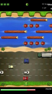 Frogger in Game Play 2