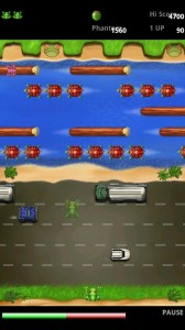 Frogger in Game Play 3
