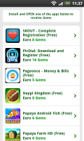 Froggy Jump - Earn gems by downloading other applications