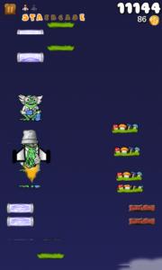 Froggy Jump - Protective bucket and rocket!