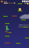 Froggy Jump - Those platforms crumble!