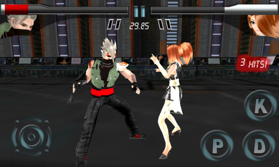 Further Beyond Fighting, the first 3D Fighting Game for Android similar Mortal Kombat or Tekken!