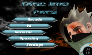 Further Beyond Fighting Title Screen