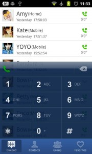 GO Contacts Dialer