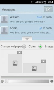 GO SMS Pro Text Message Attachment