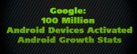 Google: 100 Million Android Devices Activated - Android Growth Stats