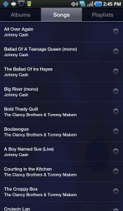 Google Music Songs