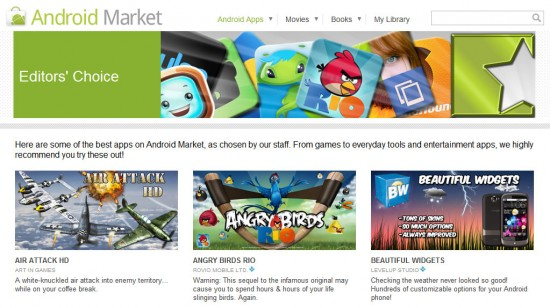 Google Updates the Android Market