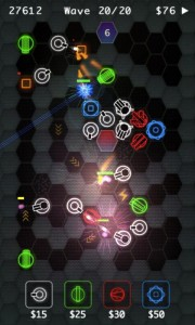 HexDefense in Game Play 1