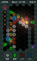 HexDefense in Game Play 3