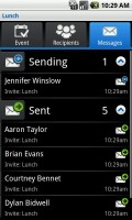 InviteWiz Messaging Status