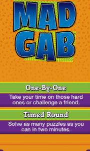 MadGab Game Options