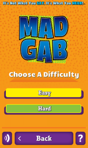 MadGab One by One Question Difficulty