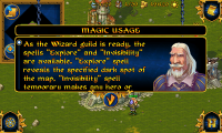 Majesty Magic Usage