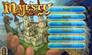 Majesty Main Menu